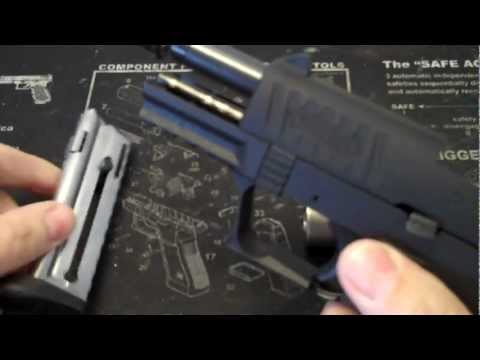 Walther P22Q + AWC Archangel T silencer  Video Review