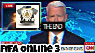 Fifa Online 3 End of Days (3 Legendary Pack)