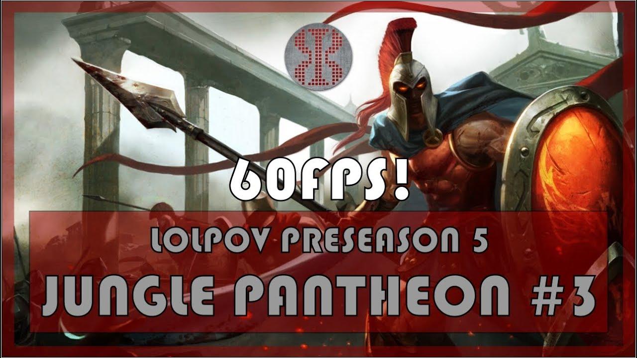 Pantheon Build Jungle Preseason