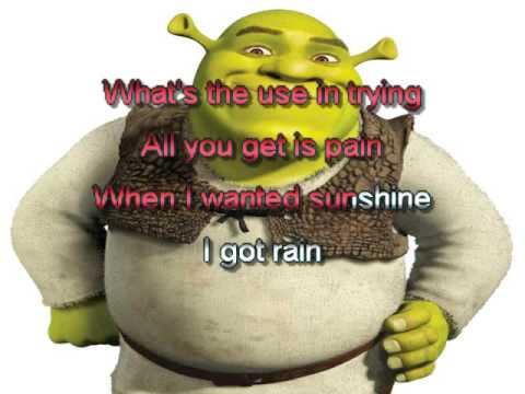 Shrek   I'm A Believer