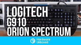 Logitech G910 Orion Spectrum - An Update to Logitech