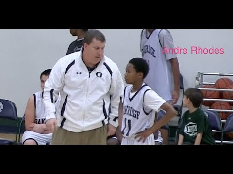 Andre Rhodes #11 Vol 2 The Oakridge School Basketball Highlights 2013-2014 - Class of 2018