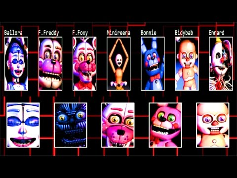 [COMPLETE] Five Nights at Freddy's: Sister Location *Jumpscare Simulator*
