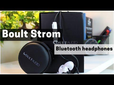 Boult Strom Bluetooth Earphones Unboxing & Review, Budget Friendly Bluetooth Earphones?