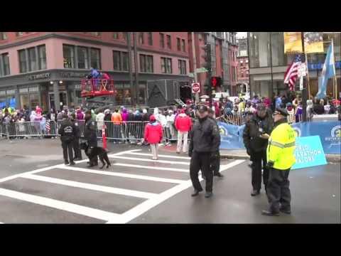 Security Tight at 2015 Boston Marathon