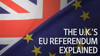 Brexit 101: The U.K.'s EU Referendum Explained