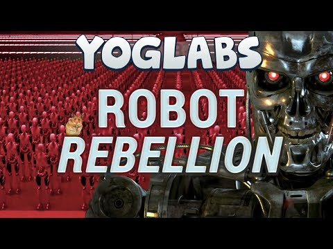 Minecraft Mods Robot Rebellion YogLabs