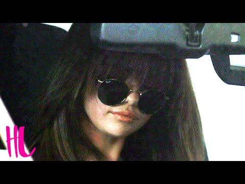 Selena Gomez Car Accident When Fleeing Paparazzi - VIDEO