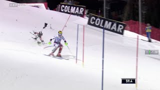 Marcel Hirscher Crash Drone Drohne Absturz Ski Alpin HD 2015