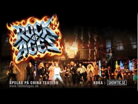 Rock of Ages - musikal i Stockholm