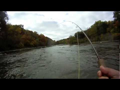 Ecuador Fly Fishing Milwaukee River salmon season 2012