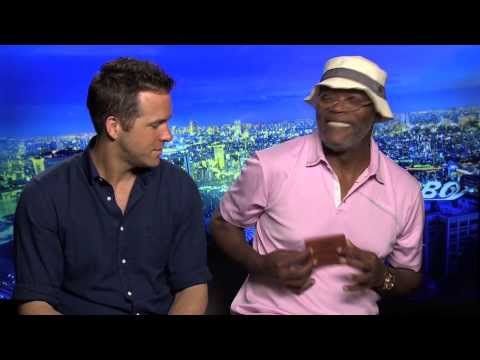 Reporter buys Samuel L. Jackson a Bad Mother F Wallet - Turbo interviews - Reynolds, Snoop Dogg
