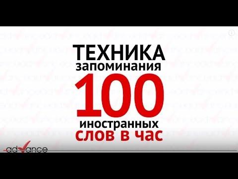 Ягодкин Николай  100 иностранных слов за час