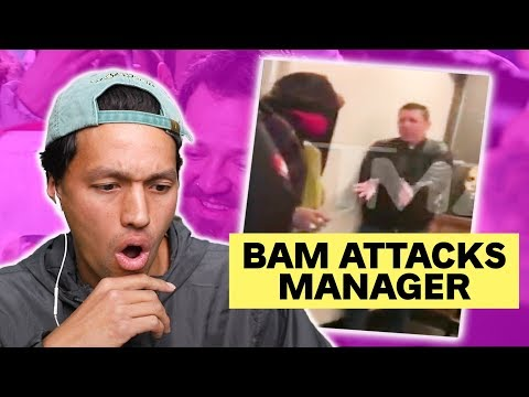 Bam Margera Attacks His Manager