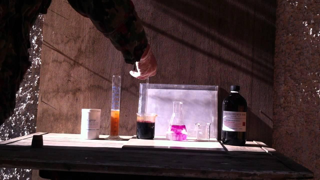 Redox   Iron Ii  Sulfate Oxidation With Permanganate Ion