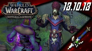 War for the Northern Song - World of Warcraft: Battle for Azeroth (18.10.18)