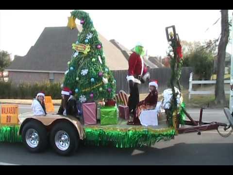 Rockwall Tx Christmas Parade Walkabout Rv Youtube