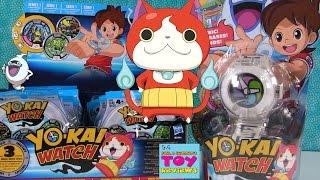 Yo-Kai Watch Toy Review & Blind Bag Medal Surprise Opening | PSToyReviews
