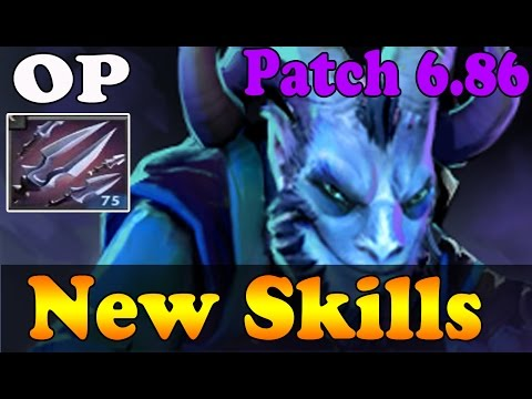 Dota 2 - Patch 6.86 - Riki New  OP Skill : Tricks of the Trade !