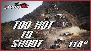 Hot 118 Degrees RC Video Shoot - Traxxas E-Revo