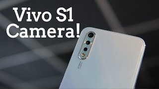 Vivo S1 Camera Overview, Camera Samples, Video Capture Sample - Triple Rear and 32MP front cameras