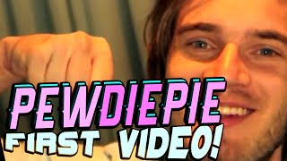 PewDiePie First Video EVER (First Known Video!) | Youtubers First Videos Ever | Youtubers First Time