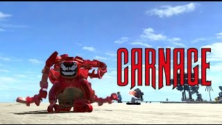 LEGO Marvel Superheroes - Carnage Location and Gameplay