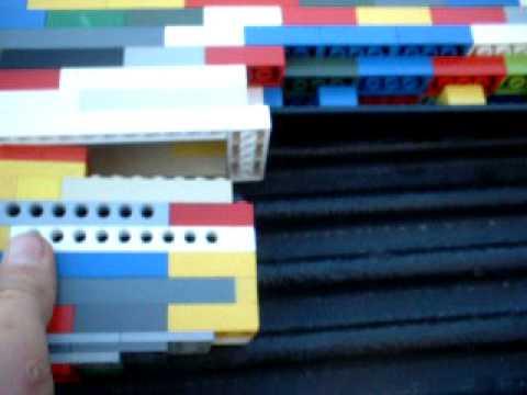 Josiah's Lego Barrett 98 Bravo