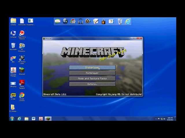 Minecraft: How to install Too Many Items Mod on v.1.2.5