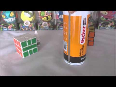 Como lubricar el Cubo de Rubik