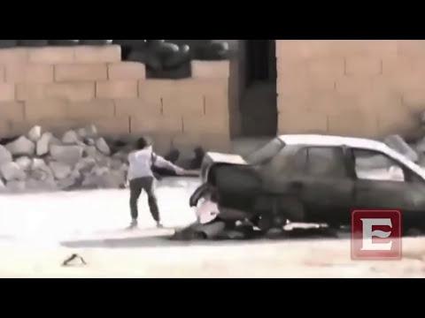 Niño sirio salva a niña de francotiradores
