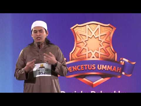 Pencetus Ummah - Ahmad Faiz Hafizuddin Bin Rosli (Top 25)