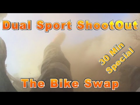 Dual Sport ShootOut pt2 The Bike Swap - KLR650 DRZ400S WR250R