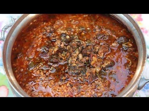Турецкий суп. Semizotu çorbası.