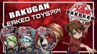 BAKUGAN LEAKED TOYS?! Major Battle Planet News Update!