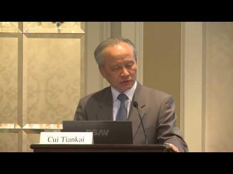China's ambassador to U.S. addresses South China Sea dispute
