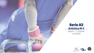 Napoli - 3ª prova Campionato Serie A2 GAM/GAF