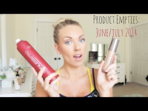 ❤ Product Empties: June/July 2014 ❤