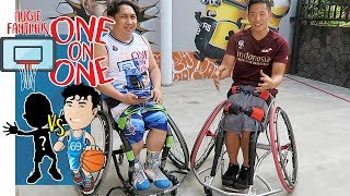 Nggak Boong! Susah Gua Maen Basket Kaya Donald Santoso Pake Wheelchair