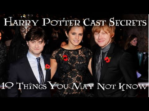 Harry Potter Cast Secrets: 10 Things You Don't Know