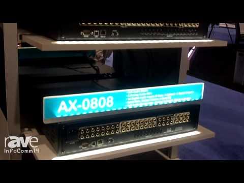 InfoComm 2014: AVocation Systems Presents the AX-3232 Audio Matrix