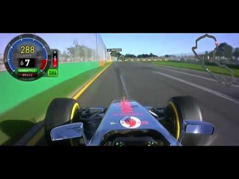 F1 2012 - Pole Lap Melbourne - Lewis Hamilton