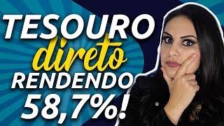 Os 5 SEGREDOS para MULTIPLICAR SEU RENDIMENTO no TESOURO DIRETO! - Júlia Mendonça