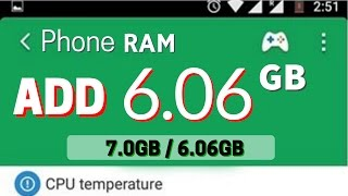 Add 2GB RAM To Any Phone For FREE & Speed UP Your Phone