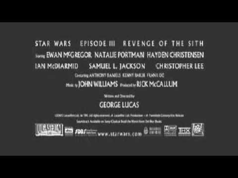 Star Wars Episodio III – La vendetta dei Sith – Primo trailer cinematografico italiano
