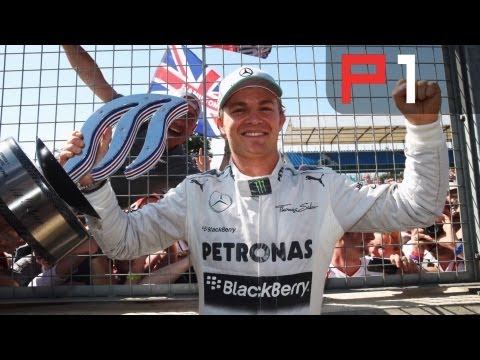 Rosberg wins the British Grand Prix 2013
