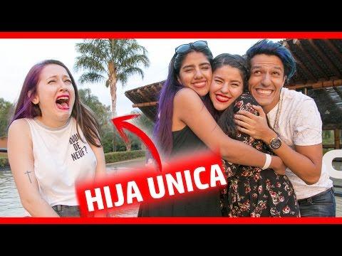 TENER HERMANOS VS HIJO UNICO   ft Los Polinesios