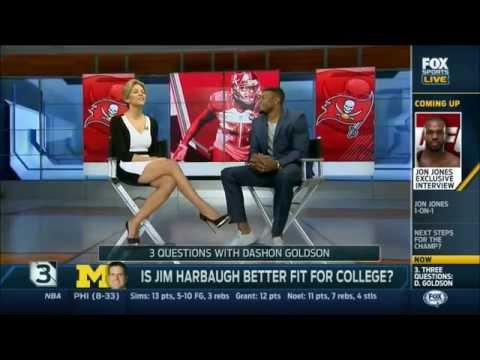 Charissa Thompson Fox Sports Live Countdown (Legs Crossed) thumbnail
