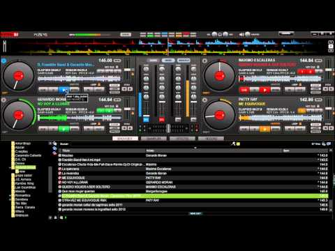 cumbia ecuatoriana mix 2012 en virtual DJ 7