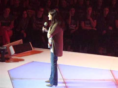 WE DAY 2012 ~ Me to We Speaker: Liz Murray